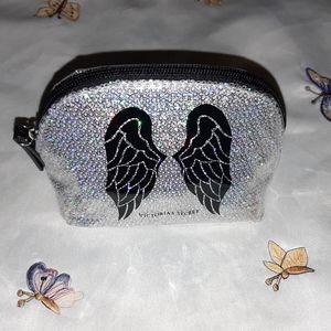 VS Small Angel Wings Cosmetics Bag NWOT!